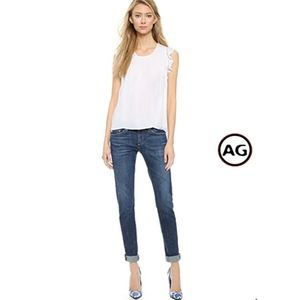 AG | Nikki Relaxed Skinny Ankle Jeans 30x24
